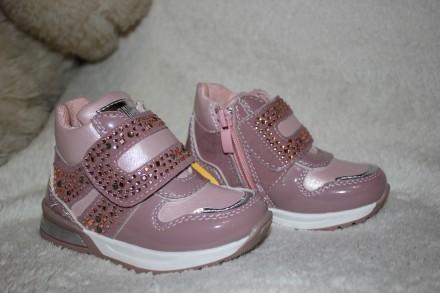 Демисезонные ботинки тм Clibee рр. 21, 22, 23, 24, 25, 26 для девочек. Дрогобыч. фото 1