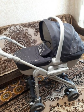 Візок дитячий CAM 3 в 1 сірого кольору. Каменец-Подольский. фото 1