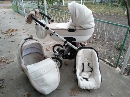 Продам коляску Ottis adbor 3in1. Кодыма. фото 1