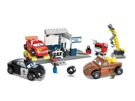 Конструктор JVToy 19001 Гараж Смоуки 212 деталей аналог Lego лего. Новый! Хит!. Днепр. фото 1