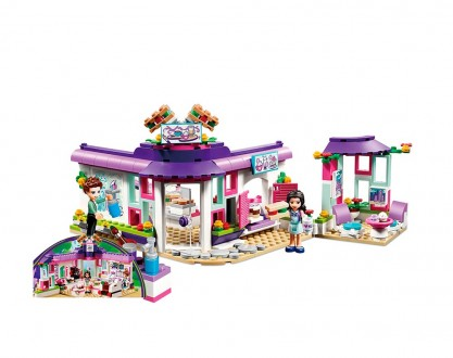 Конструктор JVToy 18003 Арт-Кафе Эммы 423 детали аналог Lego Friends лего, Новый. Днепр. фото 1