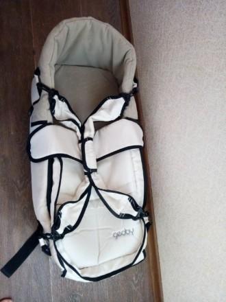 Продам сумку-переноску Geoby для младенца. Валки. фото 1