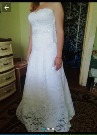 Новое свадебное платье за пол цены. Синельниково. фото 1
