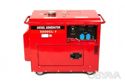 Генератор дизельный WEIMA WM5000CLE-3 SILENT (5 кВт, 3 фазы, электростартер, шум