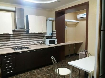 Сдам  1-комнатную квартиру в ЖК Атлант, новый дизайнерский ремонт, первая сдача.. Озерка, Днепр, Днепропетровская область. фото 9