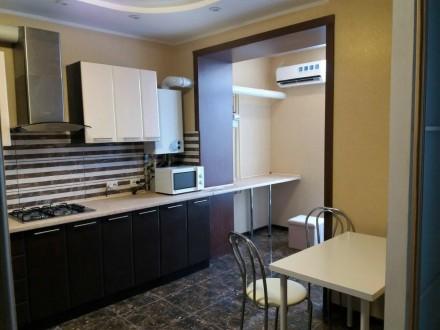 Сдам  1-комнатную квартиру в ЖК Атлант, новый дизайнерский ремонт, первая сдача.. Озерка, Днепр, Днепропетровская область. фото 3