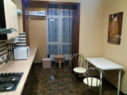 Сдам  1-комнатную квартиру в ЖК Атлант, новый дизайнерский ремонт, первая сдача.. Озерка, Днепр, Днепропетровская область. фото 4