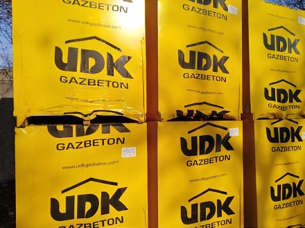 Газобетон UDK. Запорожье. фото 1