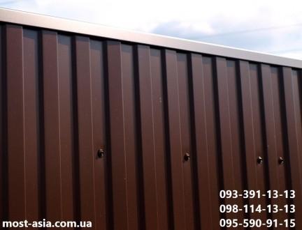 Планка на забор из профнастила размеры под заказ нестандартные и стандартные: П. Киев, Киевская область. фото 4