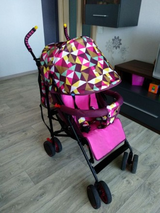 Прогулочная коляска после ро одного ребенка. Дружковка. фото 1