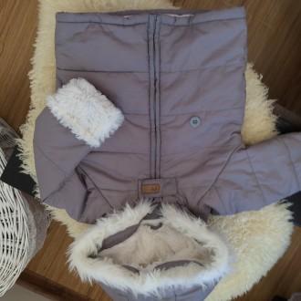 Куртка комбінезон 74р ідеальний стан. Надворная. фото 1