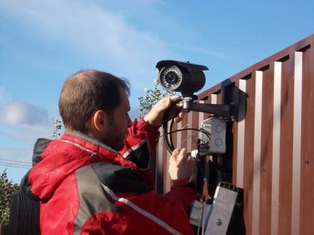Установка и монтаж видеонаблюдения в Чернигове. Чернигов. фото 1