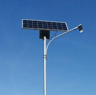 Светильник уличный на солнечной батарее 50 Вт. Херсон. фото 1