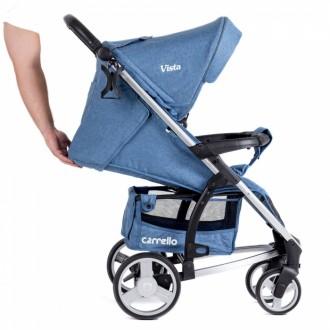 Детская коляска Vista CRL-8505 прогулочная лен. Хмельницкий. фото 1