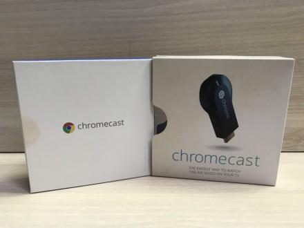 Медиаплеер Google Chromecast (ТВ приставка). Запорожье. фото 1