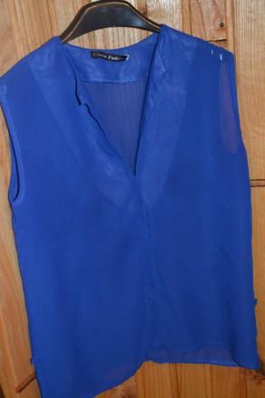 блуза з поясочком електрік. Рожнятов. фото 1
