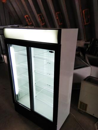 Продаємо шафи морозильні бв в пофарбованому для магазина стані 800-1400 літрів.. Луцк, Волынская область. фото 2