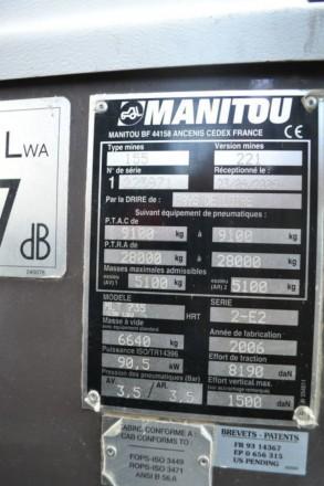 Manitou MLT 735 120 LSU Turbo - год выпуска: 2006 - наработка: 8500 m/h - гру. Хмельницкий, Хмельницкая область. фото 8