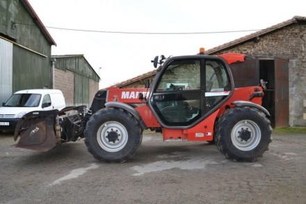 Manitou MLT 735 120 LSU Turbo - год выпуска: 2006 - наработка: 8500 m/h - гру. Хмельницкий, Хмельницкая область. фото 2