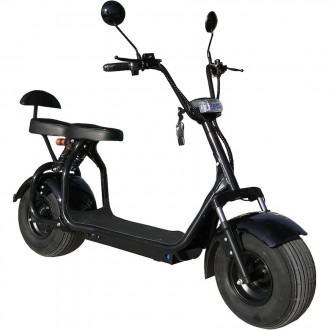 Электроскутер CityCoco Ride (1000 W, АКБ 60 V, 20 Ah) CityCoco Ride - новинка ср. Киев, Киевская область. фото 2
