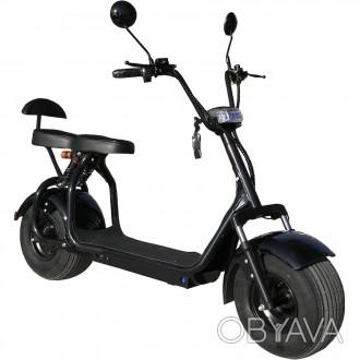Электроскутер CityCoco Ride (1000 W, АКБ 60 V, 20 Ah) CityCoco Ride - новинка ср. Киев, Киевская область. фото 1