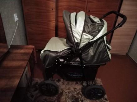Продам коляску Bambino 3в1. Ровно. фото 1