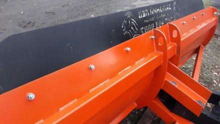 Отвал-лопата коммунальная «ТТД» снегоуборочный с механическим поворотом. (ZL). Киев. фото 1