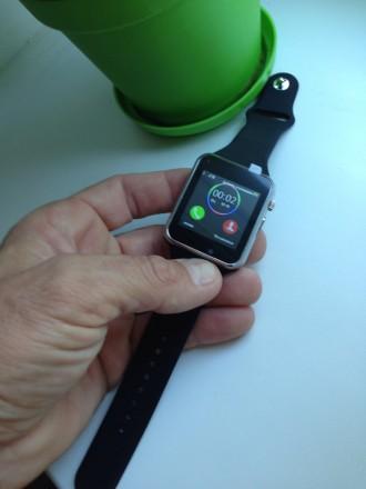Продам новые оригинальные смарт-часы Smart Watch A1. Привёз из Китая на подарки . Киев, Киевская область. фото 2