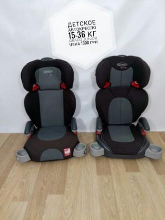 Детское автокресло до 36 кг, Graco 15-36 кг, дитяче автокрiсло. Сумы. фото 1