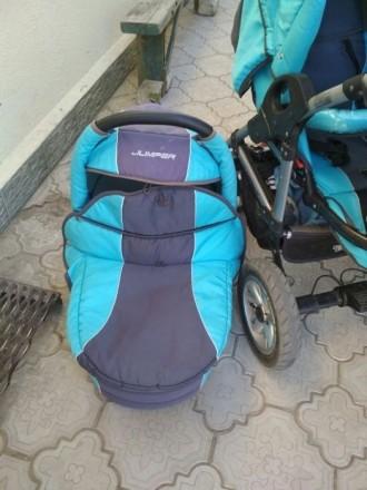 Продам коляску 2 в 1 Tako jumper. Новая Каховка. фото 1