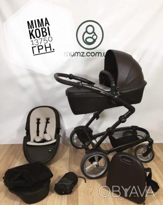 Детская коляска Mima Kobi - это компактная, элегантная коляска с системой Carryc. Сумы, Сумская область. фото 1