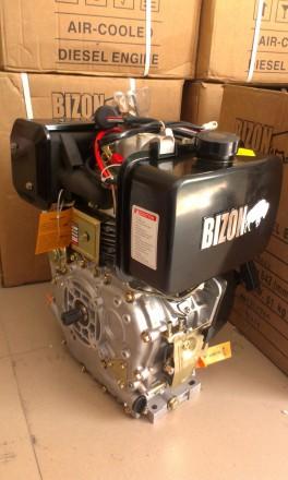 Двигатель BIZON 170F (бензин 6.5 л.с., под шпонку с 2-х ручейным шкивом) Двигате. Киев, Киевская область. фото 6