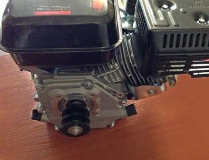 Двигатель BIZON 170F (бензин 6.5 л.с., под шпонку с 2-х ручейным шкивом) Двигате. Киев, Киевская область. фото 4