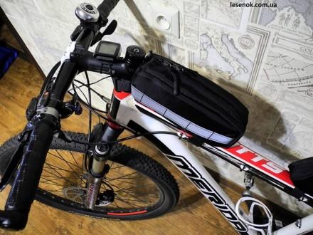 Сумка на раму велосипеда  велосумка   - F-1. Запорожье. фото 1