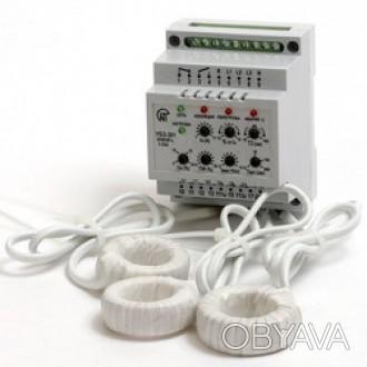Универсальный блок защиты асинхронных электродвигателей УБЗ-301 (5-50 А)