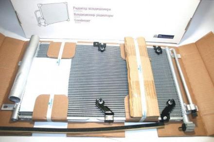 Радиатор кондиционера с ресивером 1118 ЛУЗАР LRAC 0118. Запорожье. фото 1
