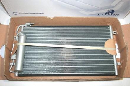Радиатор кондиционера с ресивером 2170 ЛУЗАР LRAC 0127. Запорожье. фото 1