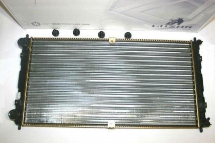 Радиатор охлаждения 2123 алюминиевый Лузар LRc 0123. Запорожье. фото 1