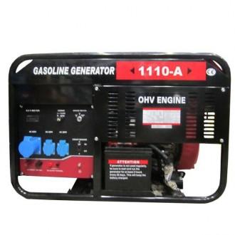Бензиновый генератор Weima WM1110-A (9,5 кВт, 1 фаза, ручной старт). Киев. фото 1