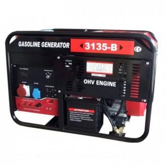 Генератор бензиновый WEIMA WM3135-B (9,5 кВт, 3 фазы, электростартер). Киев. фото 1