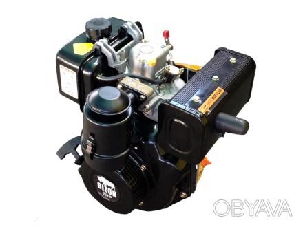 Двигатель BIZON 178FE (дизель 7 л.с., шлицы 25 мм) Дизельный двигатель BIZON 178. Киев, Киевская область. фото 1