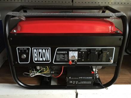 Генератор бензиновый BIZON X3000RS (2.5-2.8 кВт) Бензиновая мини электростанция . Киев, Киевская область. фото 3