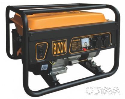 Генератор бензиновый BIZON R3000ES (2.5-2.8 кВт., электростартер) Бензиновая мин. Киев, Киевская область. фото 1
