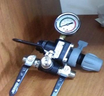 Регулятор давления с манометром (для насосов Comet 61 и 96). Киев. фото 1