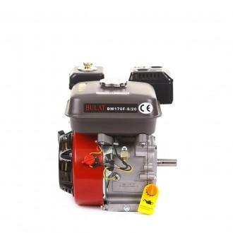 Двигатель бензиновый BULAT BW170F-S/20 (шпонка, вал 20 мм, 7 л.с.) (Weima 170) . Киев, Киевская область. фото 7