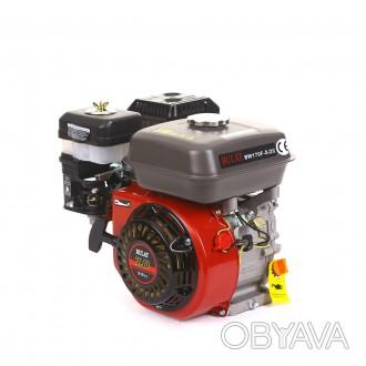 Двигатель бензиновый BULAT BW170F-S/20 (шпонка, вал 20 мм, 7 л.с.) (Weima 170) . Киев, Киевская область. фото 1