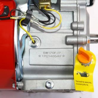 Двигатель бензиновый BULAT BW170F-T/20 (шлицы 20 мм, 7 л.с.) (Weima 170) Двигат. Киев, Киевская область. фото 10