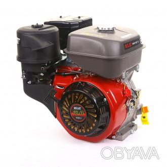 Двигатель бензиновый BULAT BW192F-S (шпонка, 18 л.с., ручн. стартер) (Weima 192. Киев, Киевская область. фото 1