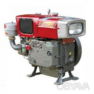 Двигатель ZUBR Зубр ZS1100 (дизель, электростартер, водяное охлаждение, 15 л.с.. Киев, Киевская область. фото 1
