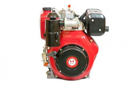 Двигатель дизельный Weima WM186FB (вал под шлицы, 9,5 л.с.). Киев. фото 1